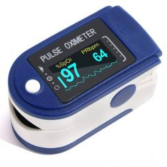 Contec blue oximeter (heart rate, SpO2)